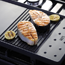 Removable griddle
