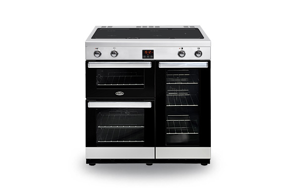 belling cookcentre 90ei induction range cookers rangecookers co uk