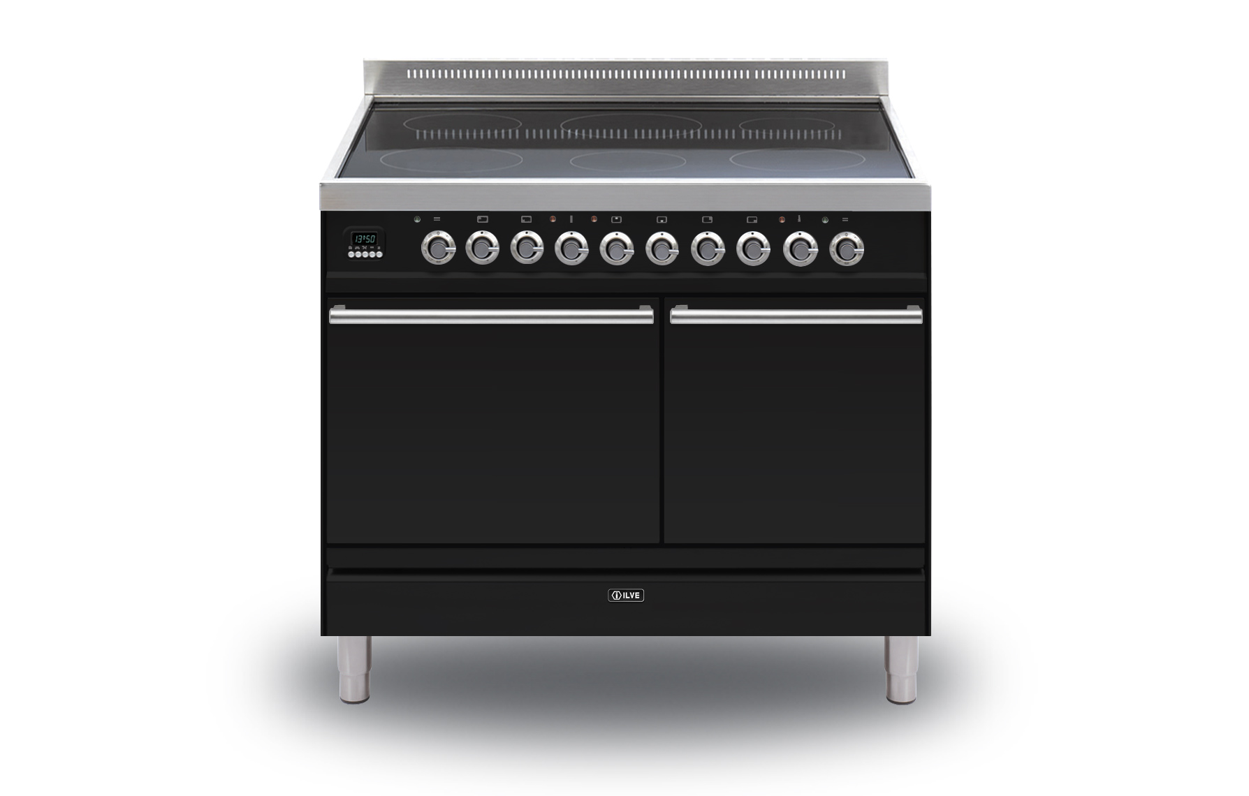 Ilve Roma Sd  Twin Induction Range Cookers Rangecookers Co Uk