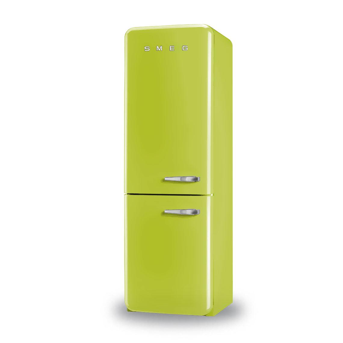smeg fab32 left hinged refrigeration. Black Bedroom Furniture Sets. Home Design Ideas