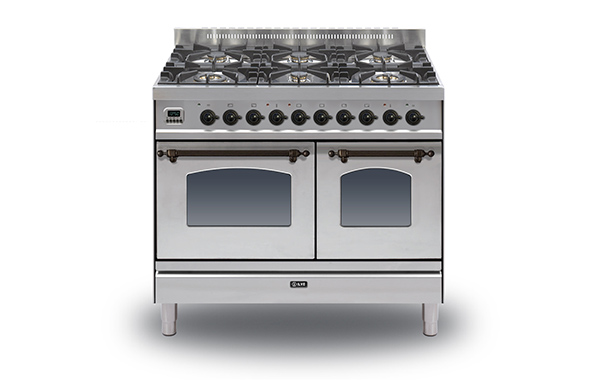 Milano 100 Twin 6-burner (bronze)