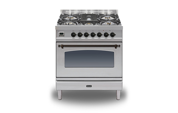 Milano 80 Single 5-burner (bronze)