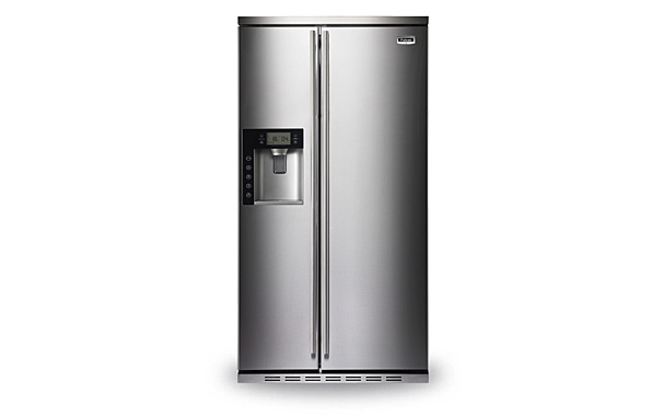 SxS Refrigerator Stainless Steel