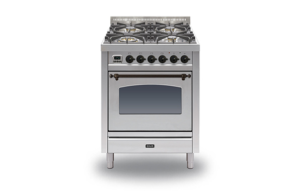Milano 70 Single 4-burner (bronze)