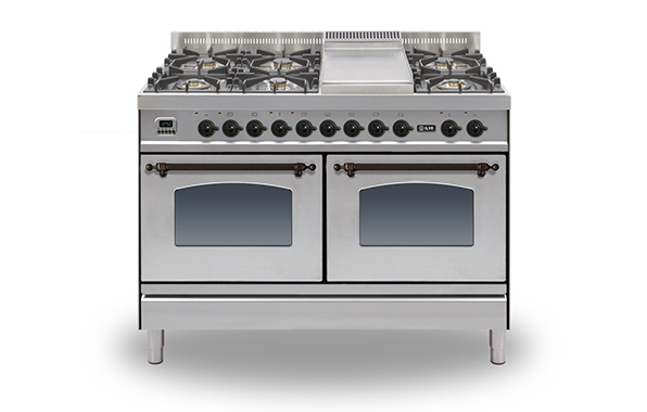 Milano 120 Twin Fry Top 60/60 (bronze)