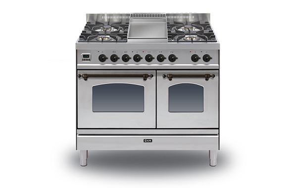 Milano 100 Twin Fry Top (bronze)