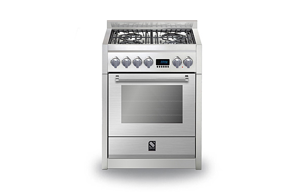 Genesi 70 Combi-Steam 4-burner
