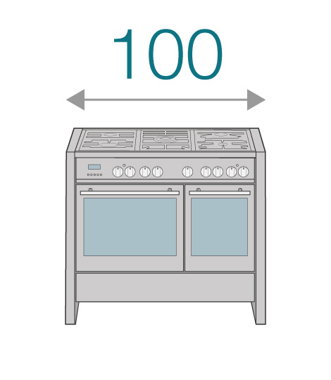 100cm Cookers
