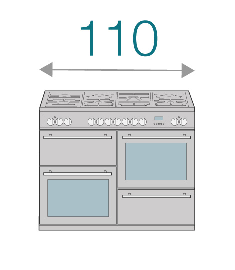 110cm Cookers