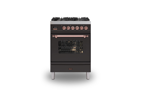 Milano 60 Single 4-Burner Premium Trim