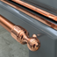 Decorative Handles (Copper + RAL Colour Match Shown)