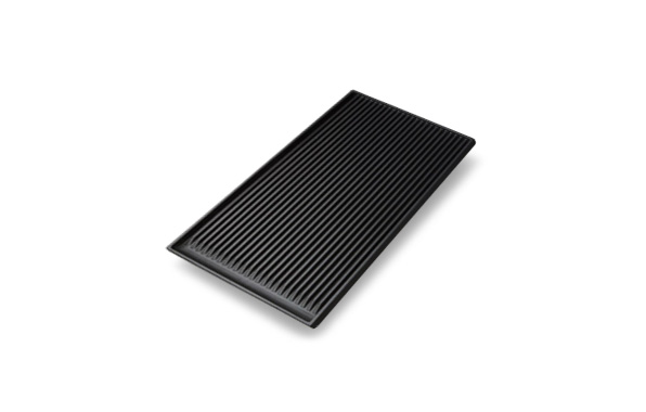 Ridged Griddle Plate
